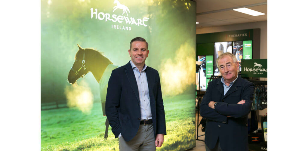 As new CEO Mark Saunders takes the reins of Horseware Ireland, the company founder and current CEO Tom Mac Guinness will become the Executive Chairman.