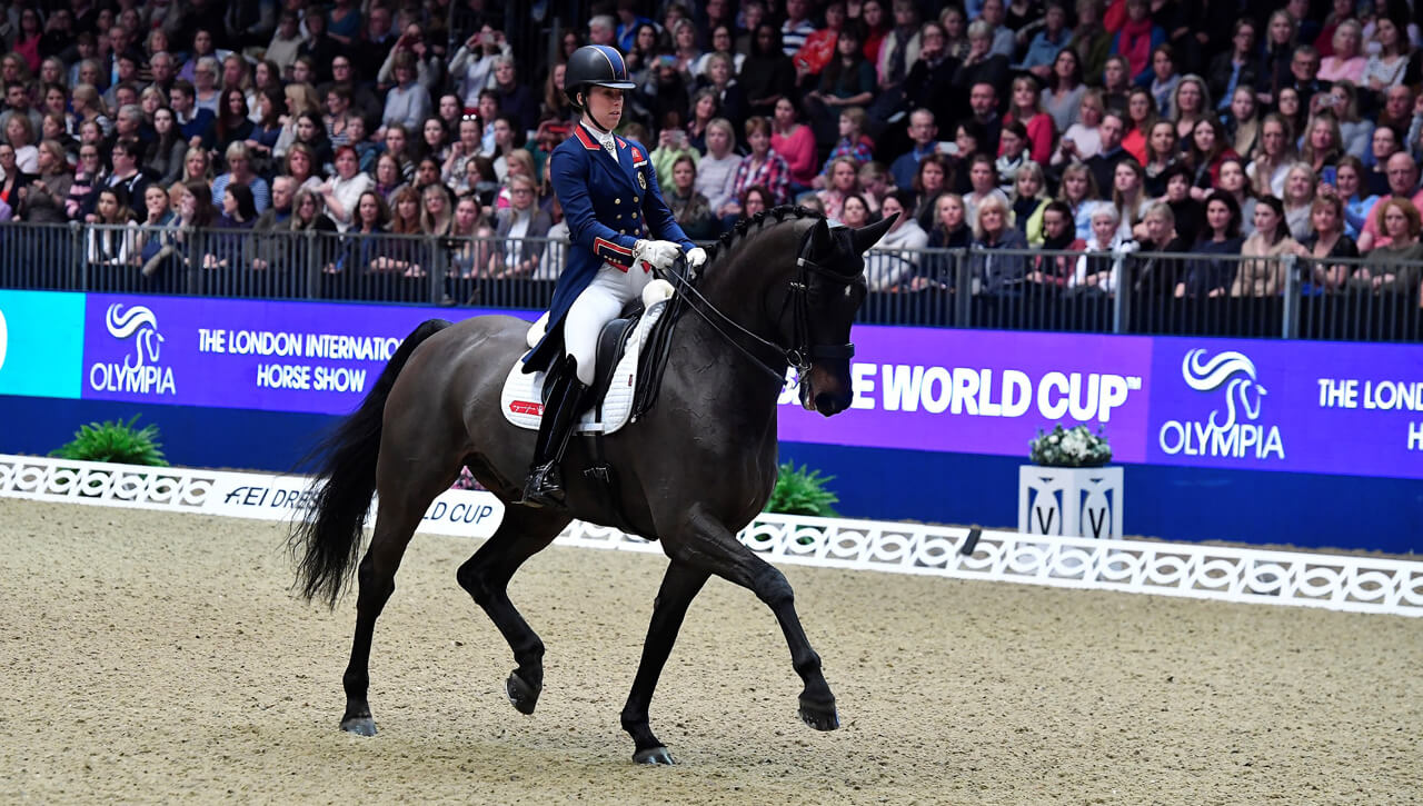 Thumbnail for World's Best Dressage and Driving Stars Heading to Olympia