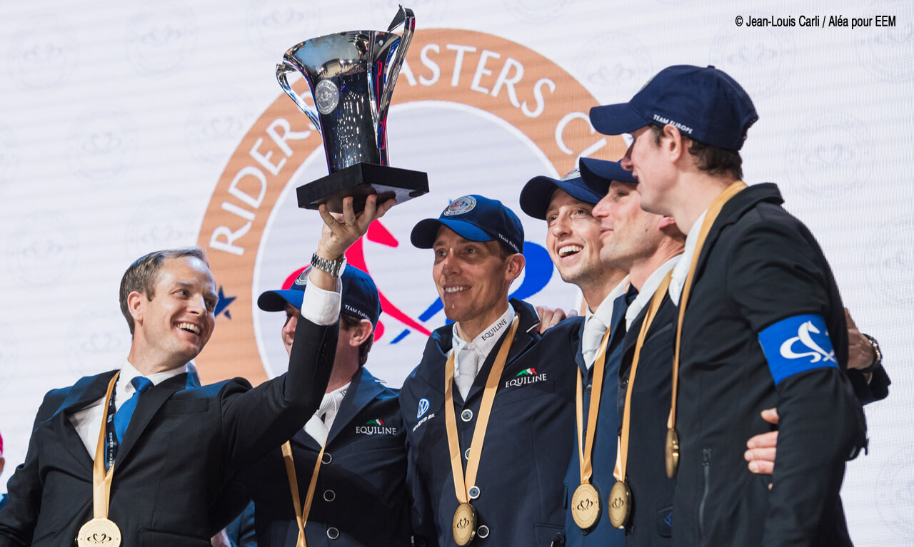 Europe remains unbeatable in the Riders Masters Cup battle in Paris