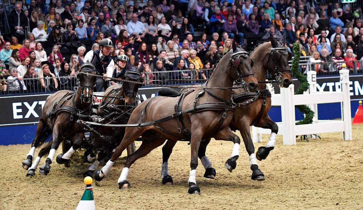 Thumbnail for Day Four at Olympia: Extreme Driving takes centre stage