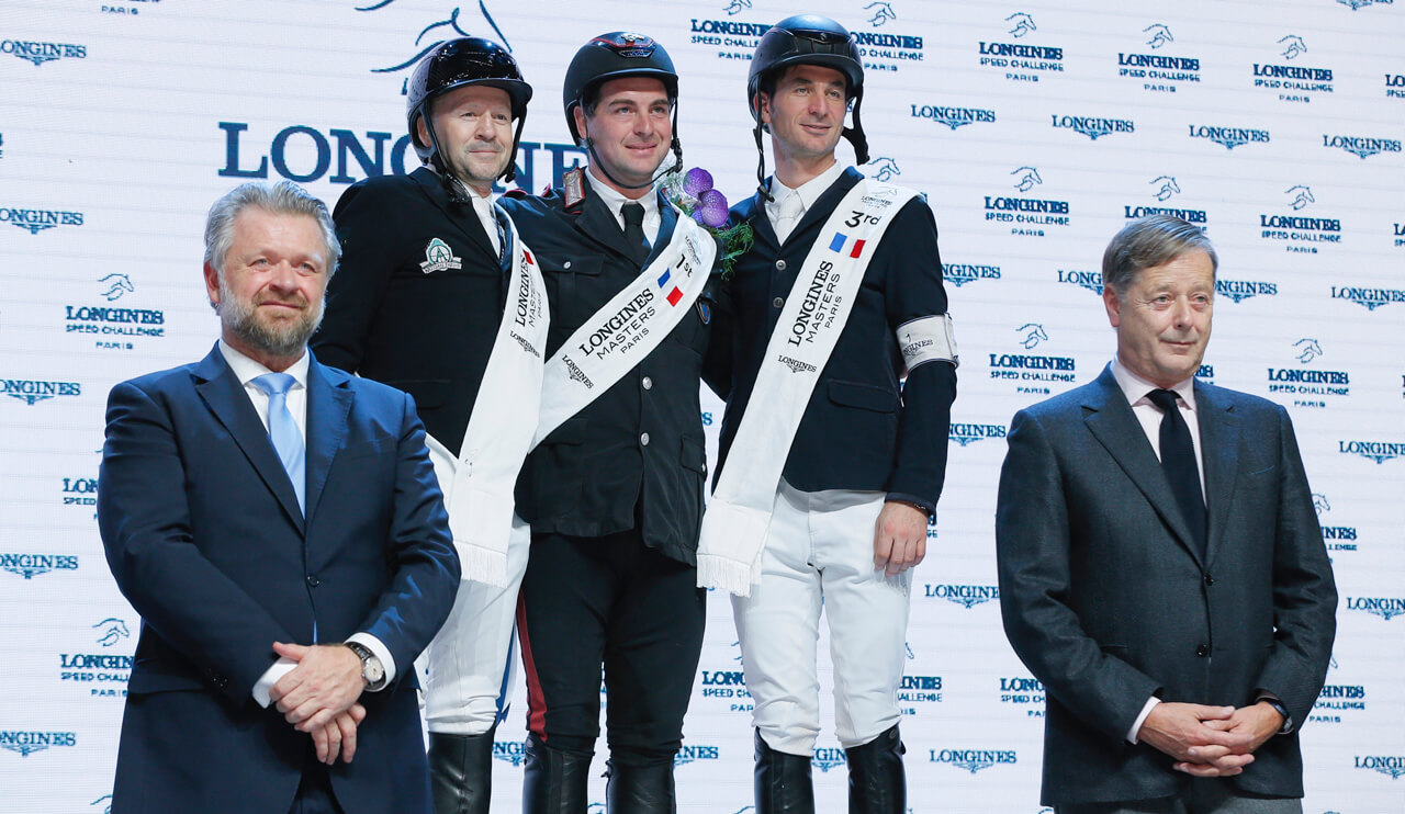 Thumbnail for Eric Lamaze and Fine Lady 5 second in Longines Speed Challenge