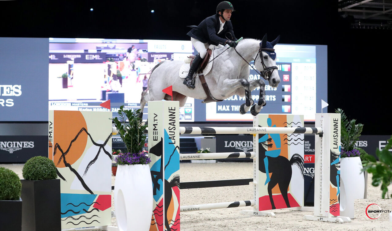 Marlon Modolo Zanotelli kicks off Paris Masters with a win