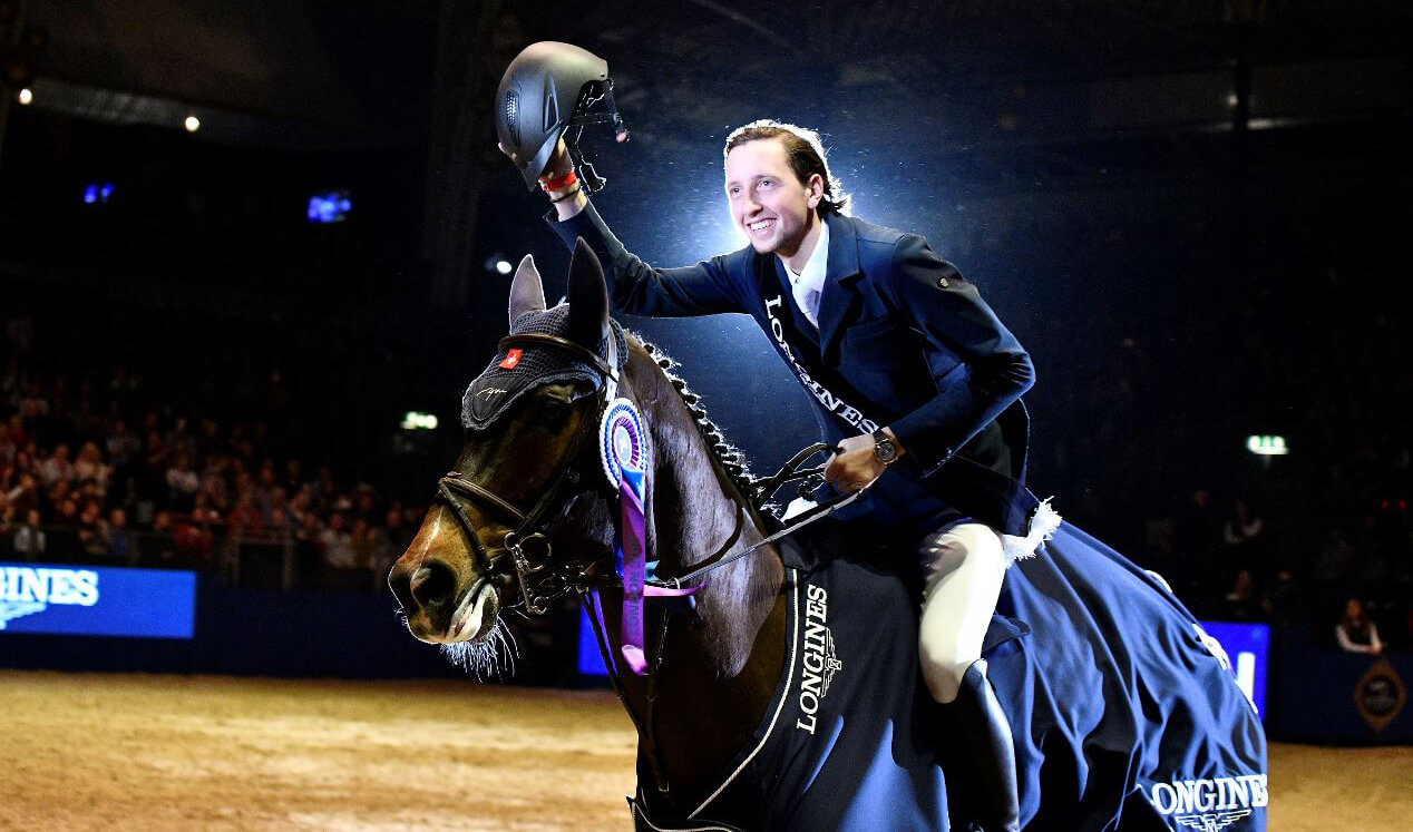 Thumbnail for The Sinner is a saint for Martin Fuchs in World Cup at Olympia