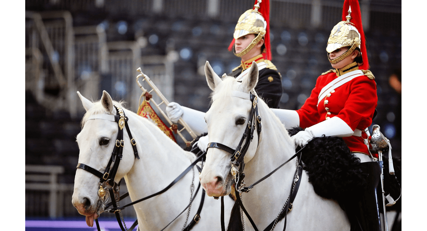 Thumbnail for The Household Cavalry Mounted Regiment Rides to Olympia