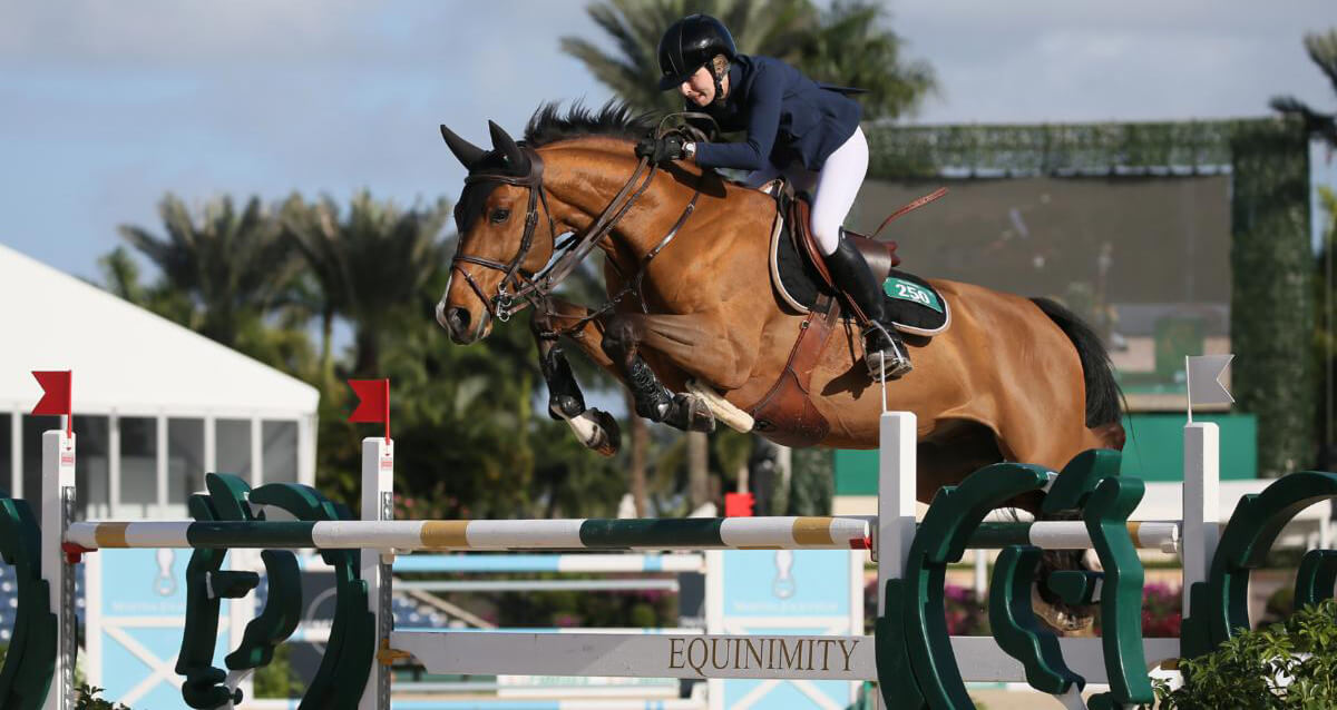 Thumbnail for Abigail McArdle and Victorio 5 win $37,000 Equinimity WEF Challenge Cup