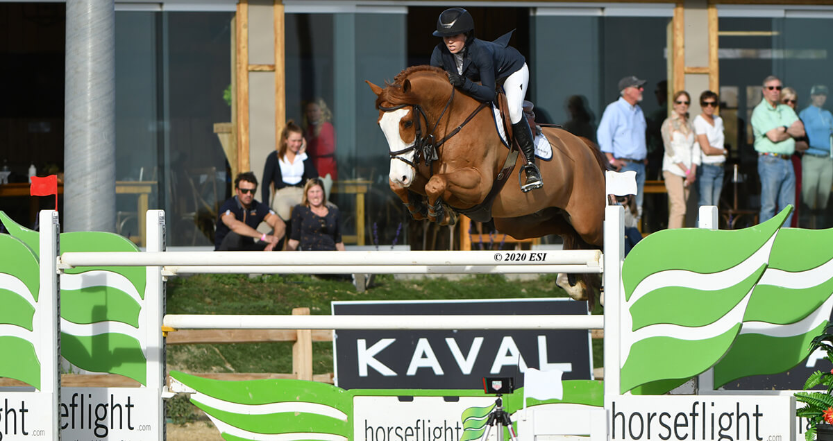 Ali Ramsay and Lutz take $100,000 Horseflight Grand Prix at DIHP