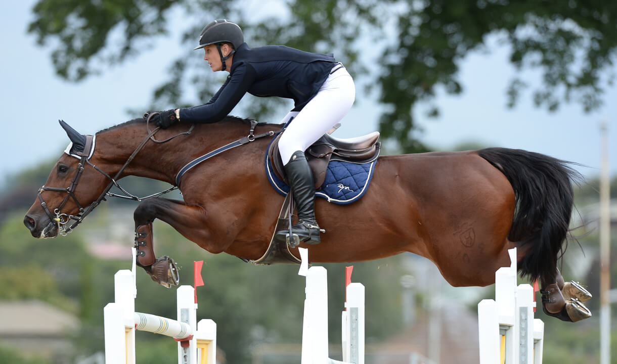 Thumbnail for Riders vie for Olympic COCs in FEI World Cup Series in New Zealand