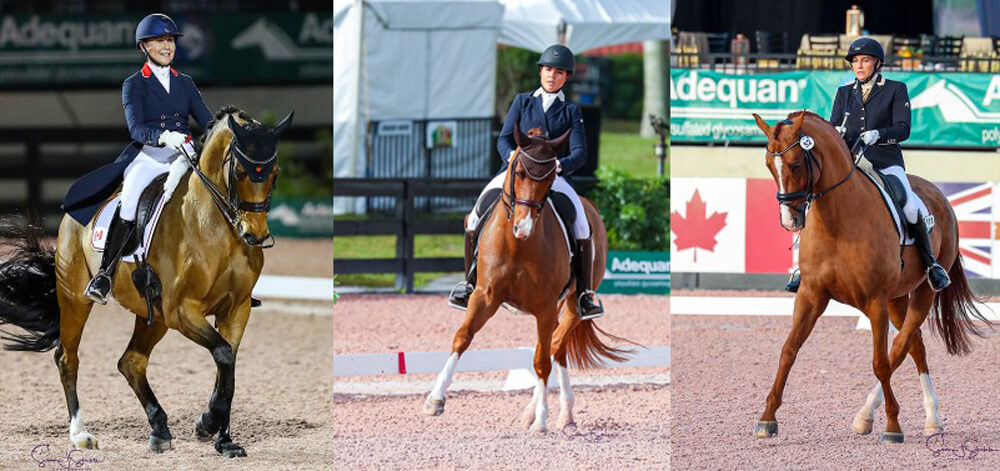 Jill Irving Leads Canadian Charge as 2020 Dressage Season Begins