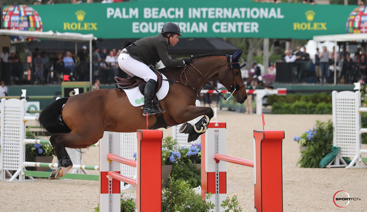 Thumbnail for Cian O'Connor closes out opening week of WEF with Grand Prix win