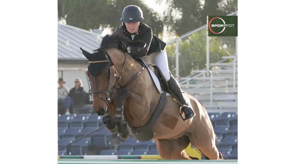 Little Creek rider Emily Ward (GBR) leading U25 division at WEF