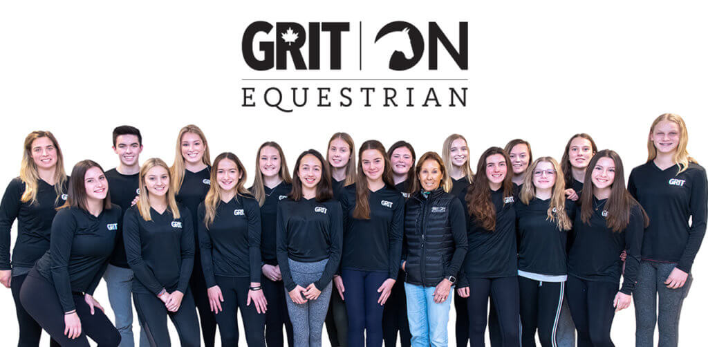 Ontario Equestrian's new training program, GRIT (Great Rider Intensive Training), is underway, with its first group of Olympic hopeful athletes.