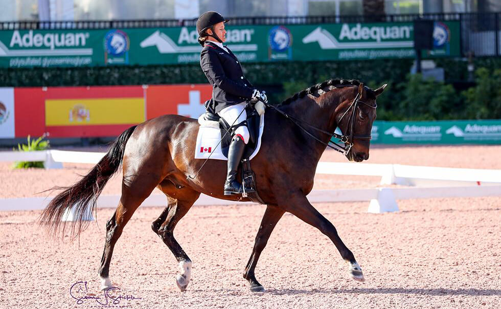 Lauren Barwick wins Gr. III Team test as CPEDI3* gets underway at AGDF