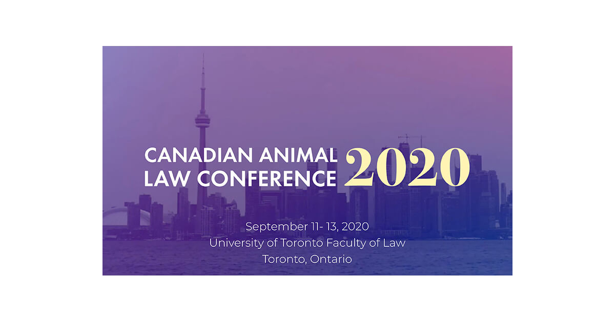 Thumbnail for Save the Date for the Canadian Animal Law Conference