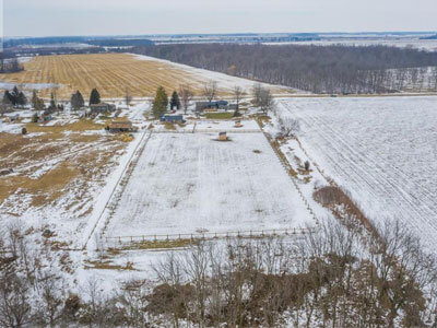 Thumbnail for $799,900 for a picturesque hobby farm in North Middlesex, Ontario