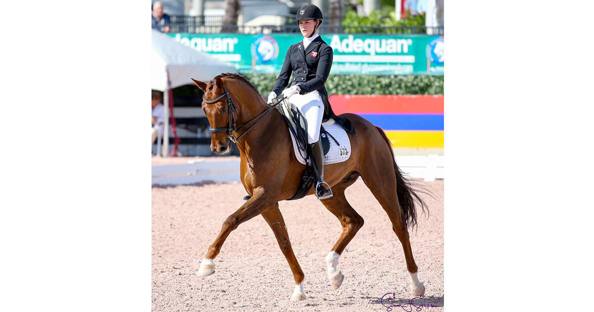 Thumbnail for Denmark's Carina Nevermann Torup wins 3 in AGDF Week 5
