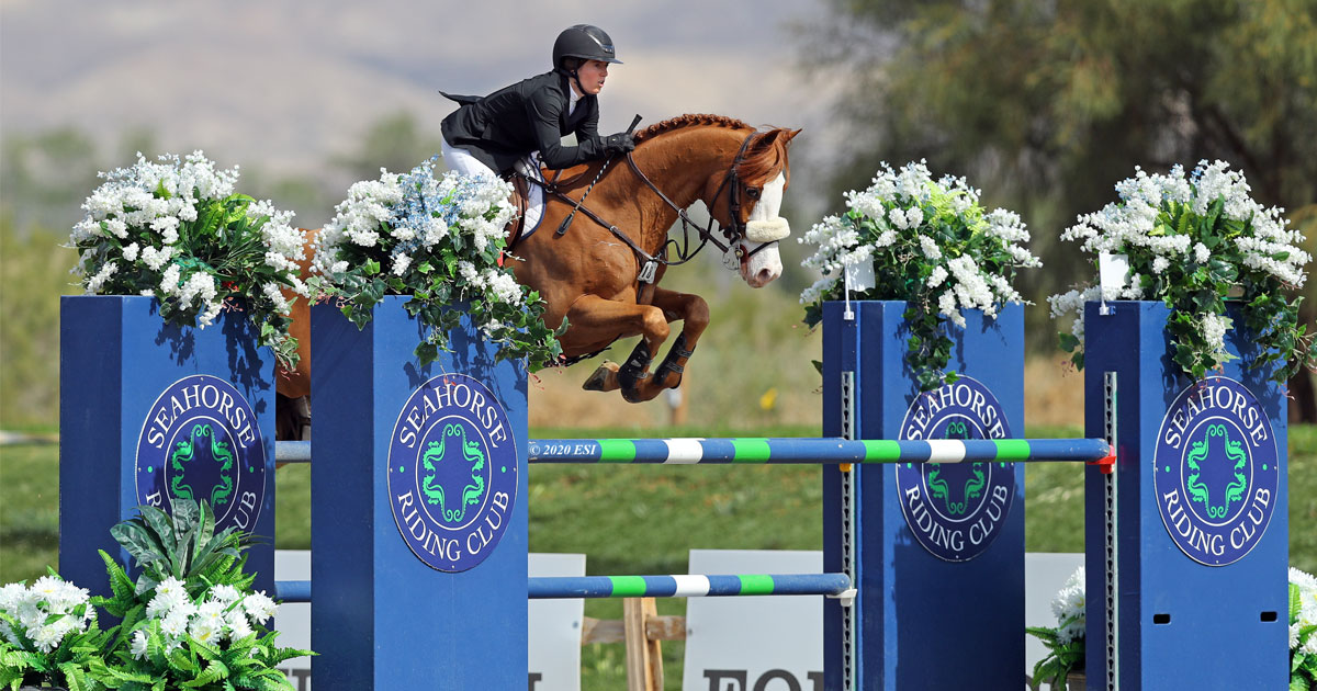 Thumbnail for Canada's Ali Ramsay rides Lutz to victory in $40,000 Diamond Tour Speed