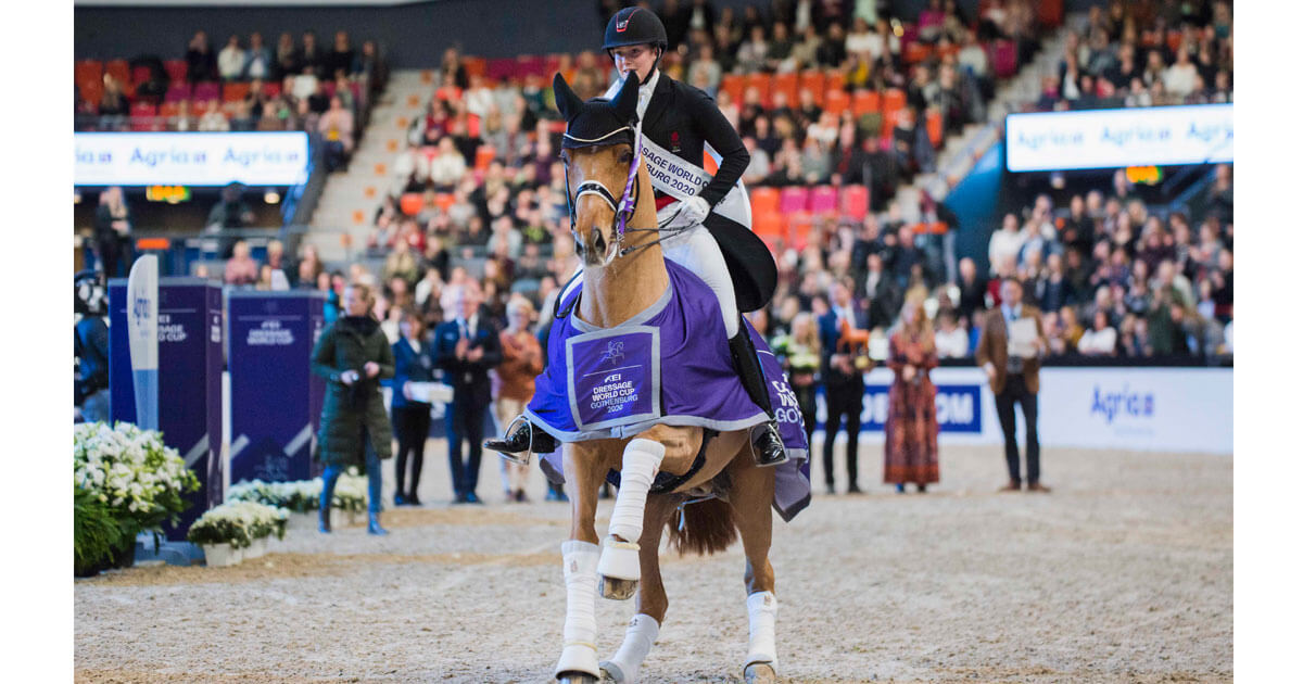 Atterupgaards Cassidy and Dufour Dazzle in Gothenburg