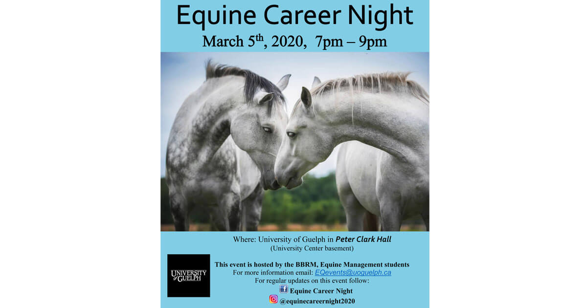 Thumbnail for Equine Career Night: Exploring your future in the Industry
