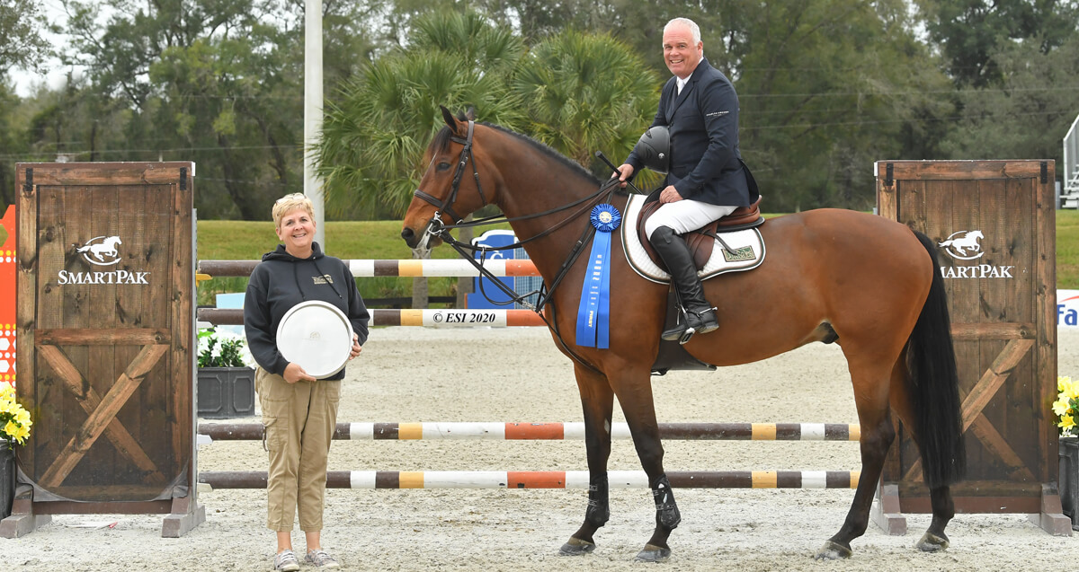Thumbnail for HITS Ocala Premiere hunter/jumper wrap-up from Post Time Farm