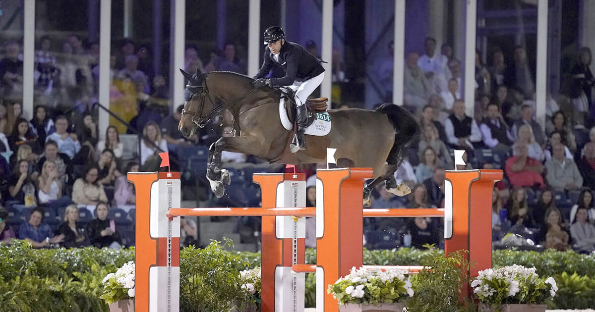 Canadian Show Jumping Team is ready to rumble at WEF