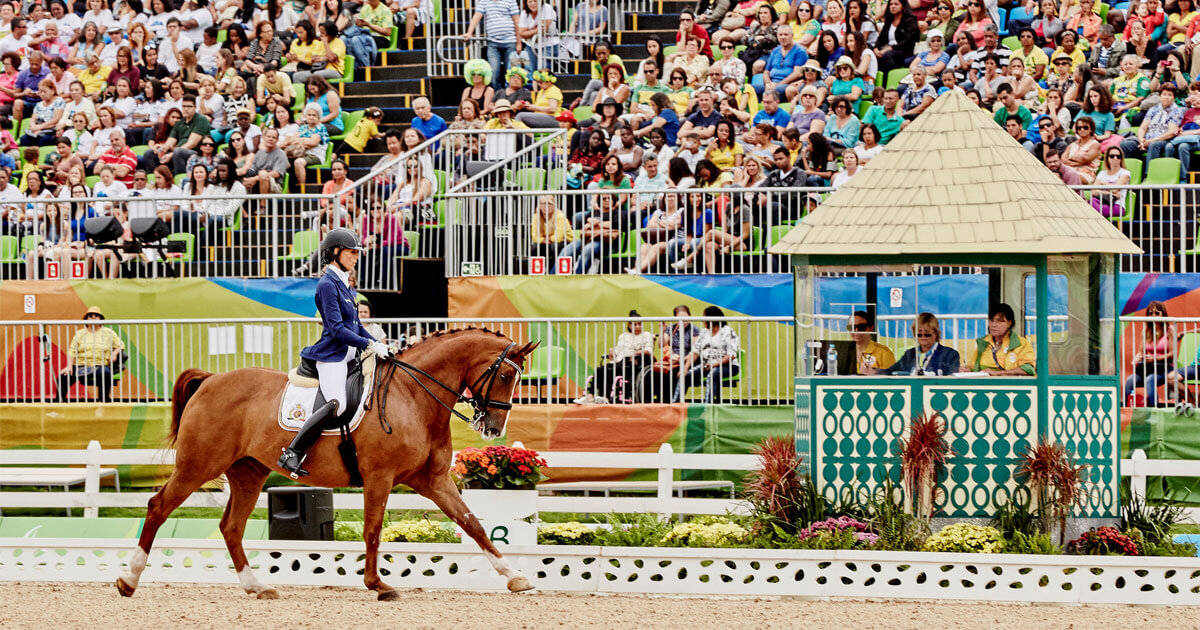 Fifteen (15) nations will battle it out for the Para Dressage team titles at this summer's Tokyo 2020 Paralympic Games (FEI/Liz Gregg)