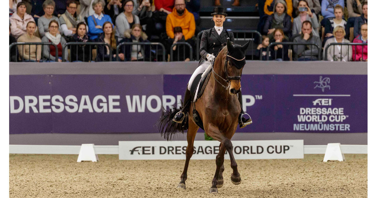 Germany claims top four places in Neumünster FEI Dressage World Cup