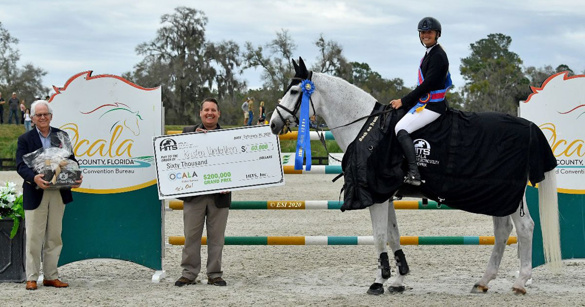 HITS Ocala Week 5 wraps up with Grand Prix win for Kristen VanderVeen