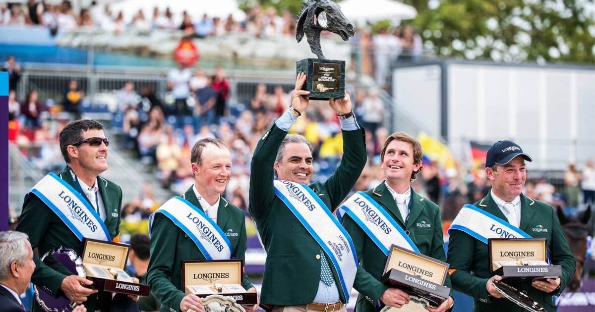 Thumbnail for Longines FEI Nations Cup Series kicks off extra-exciting Olympic year
