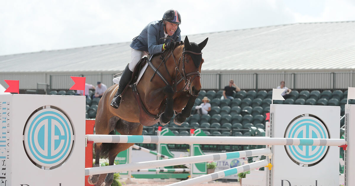 Thumbnail for Rich Fellers' east coast venture a winning one at WEF Week 6