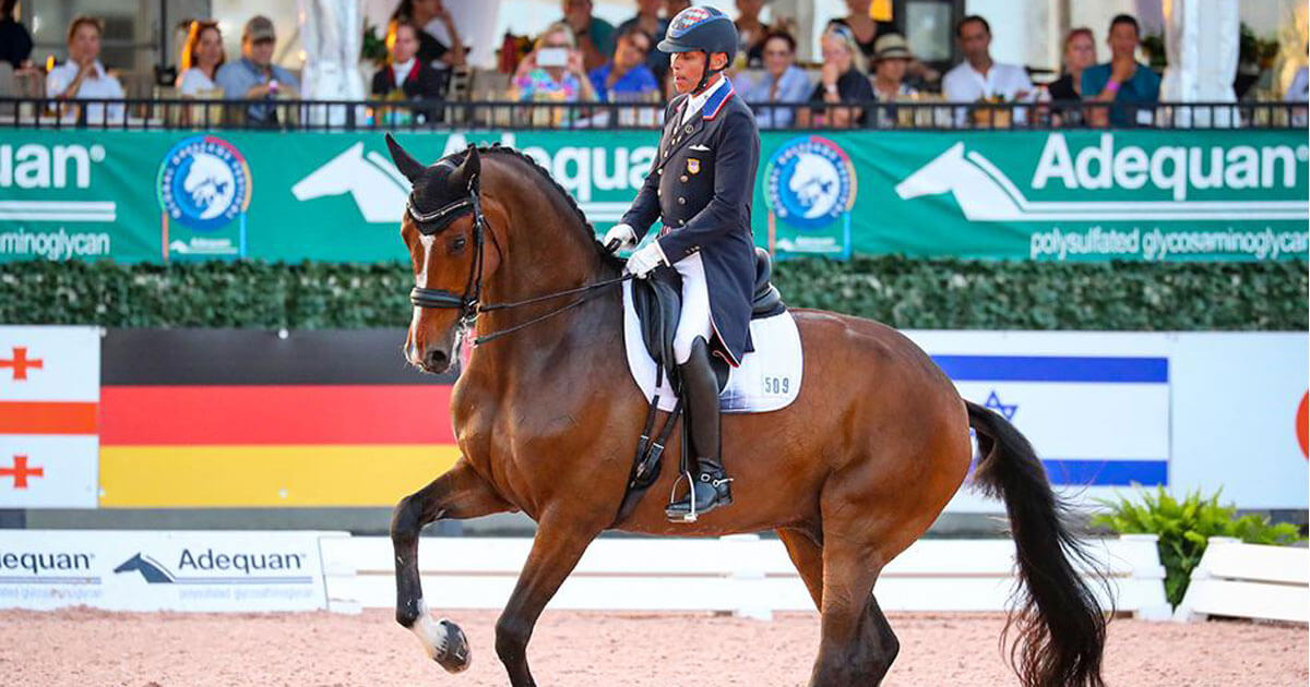 Thumbnail for Steffen Peters scores personal best to win Grand Prix at AGDF