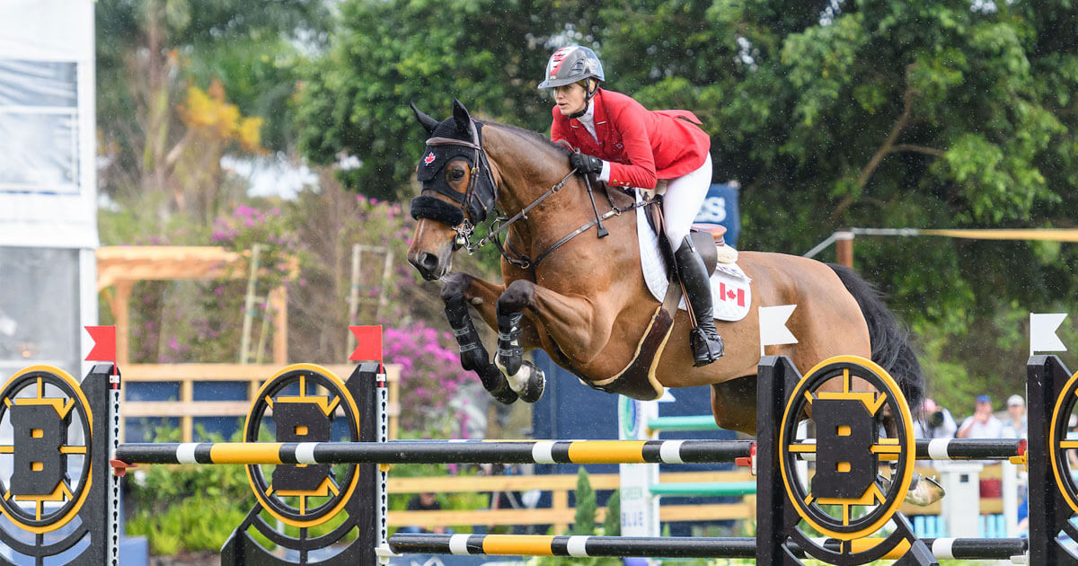 Tiffany Foster and Figor double-clear as Canada takes 4th in Nations Cup