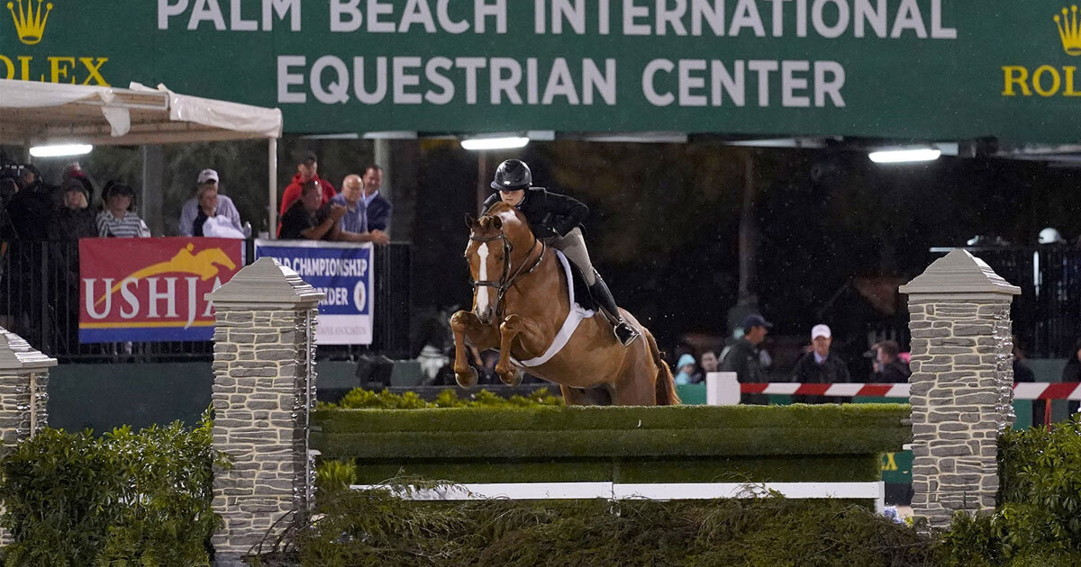 Thumbnail for Victoria Colvin and Private Practice win $100,000 Hunter Spectacular
