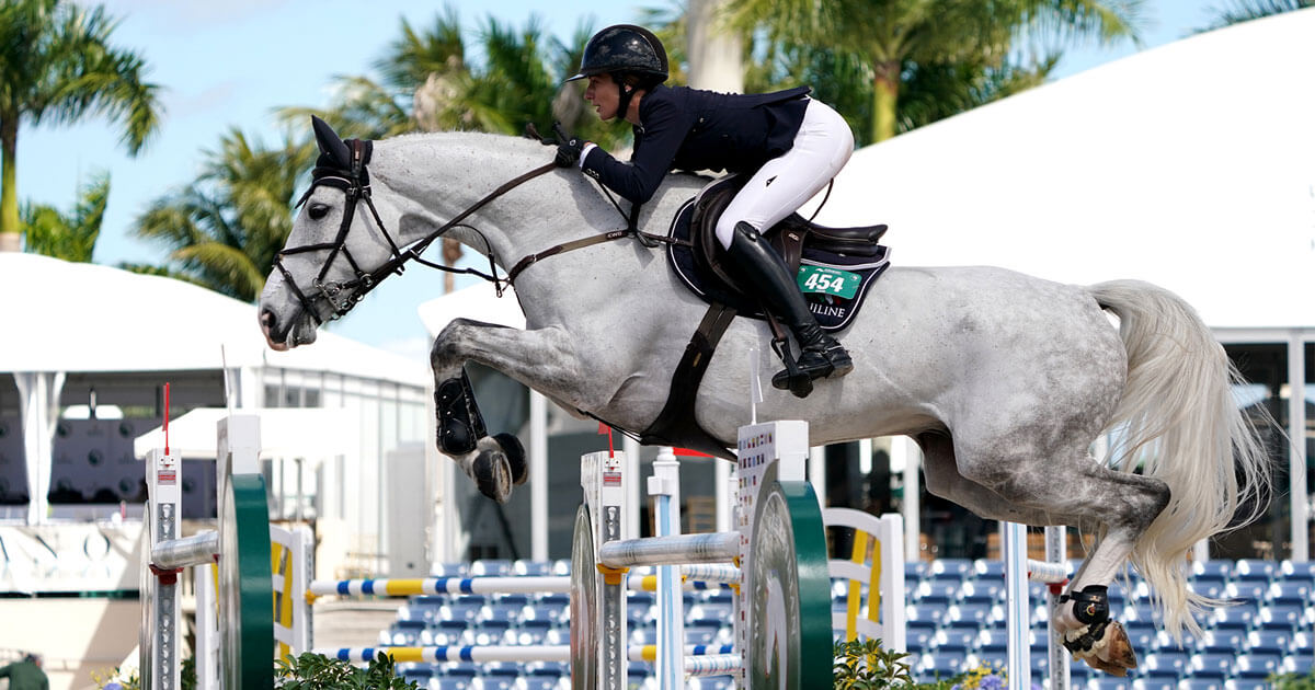Catherine Tyree and Spencer Smith Top big Sunday classes at WEF 7