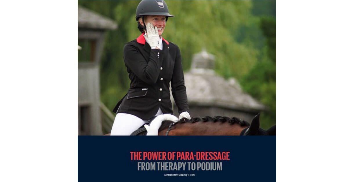 From Therapy To Podium: Start Your Para-Dressage Journey