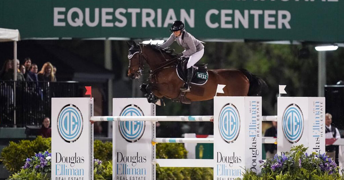 Thumbnail for Ashlee Bond Nabs First 5* Grand Prix in $401,000 Douglas Elliman