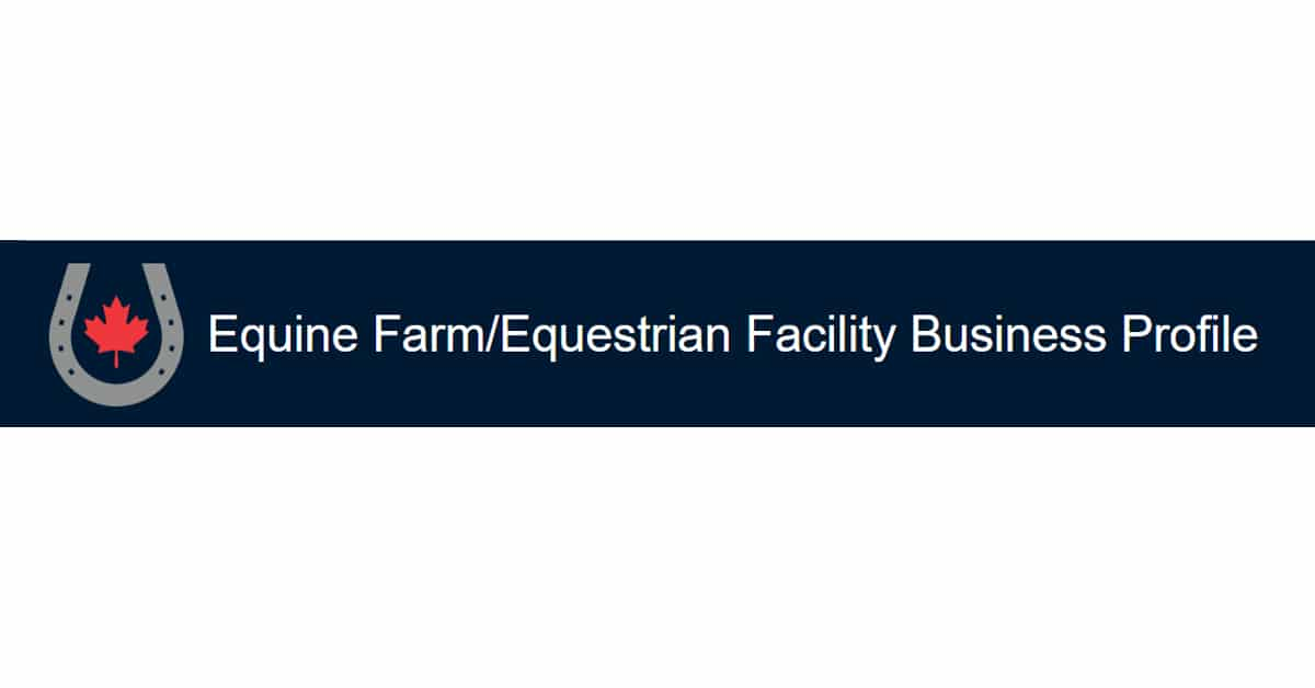 Thumbnail for Reminder to equestrian facility owners to take EC Survey
