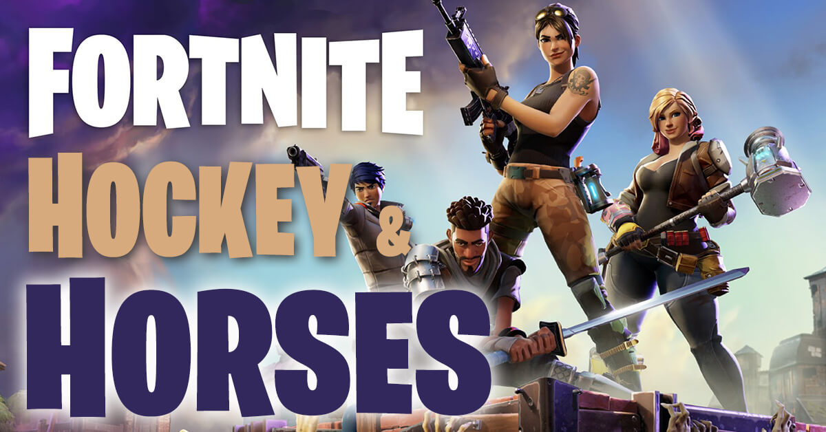 Thumbnail for Fortnite, Hockey and Horses: Lamaze's new partners, the Reins