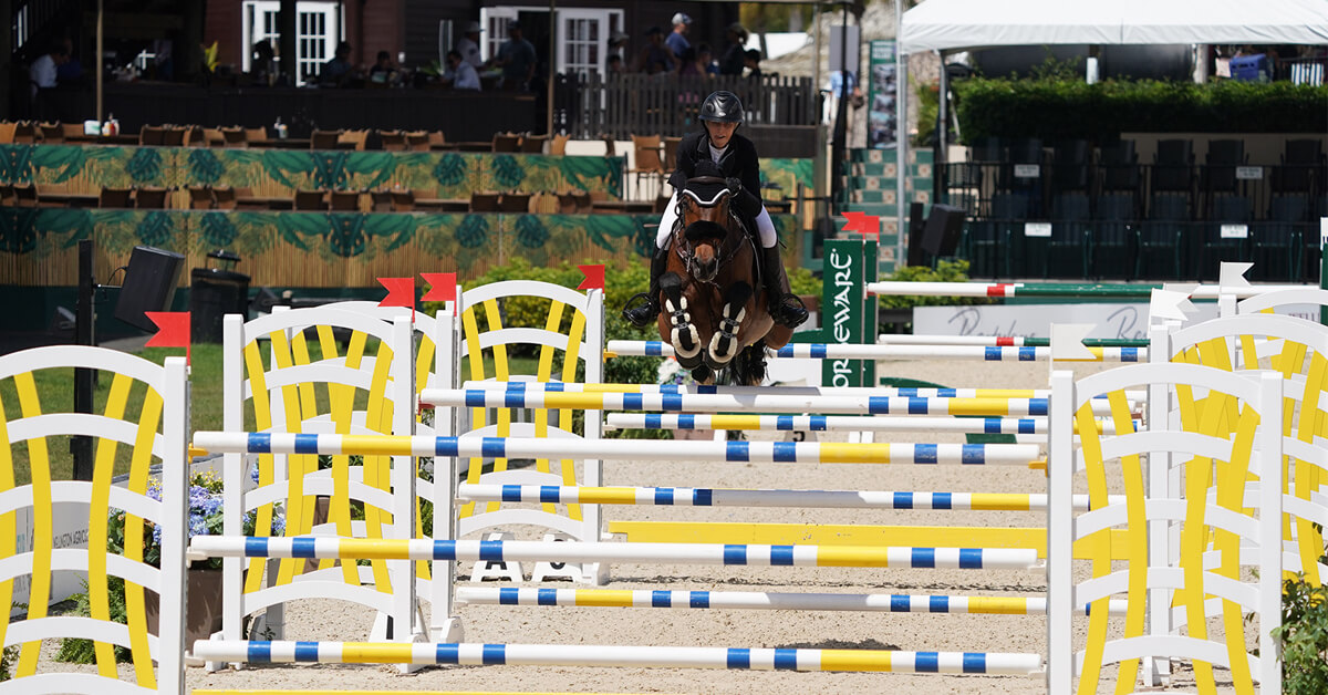 Thumbnail for WEF concludes with win for Natalie Dean in Jumper Series Final