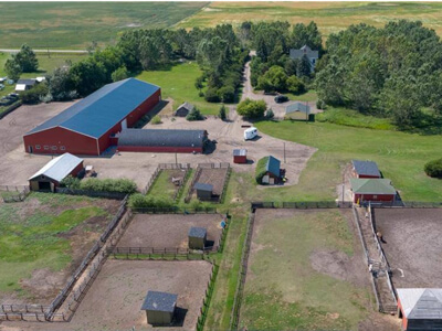 Thumbnail for $974,900 for an Equestrian Facility near Strathmore, Alberta
