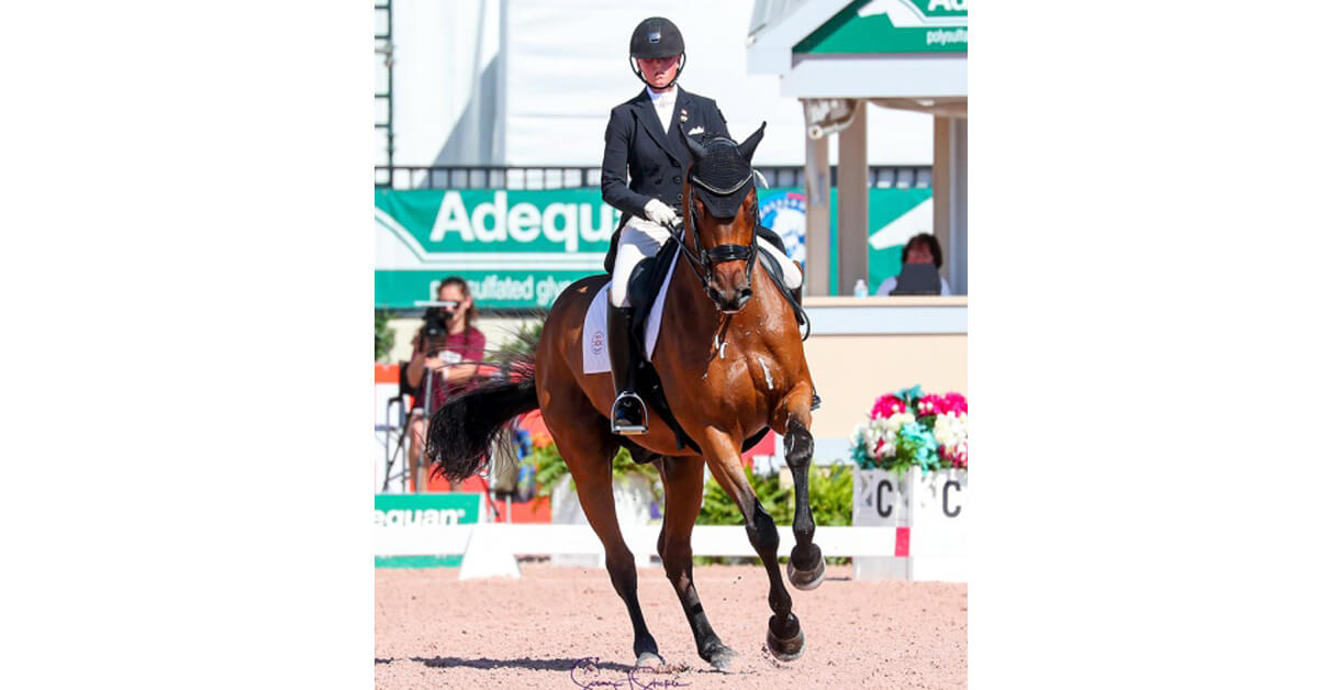 Thumbnail for Canada's Camille Carier Bergeron and Acoeur grab bronze at AGDF