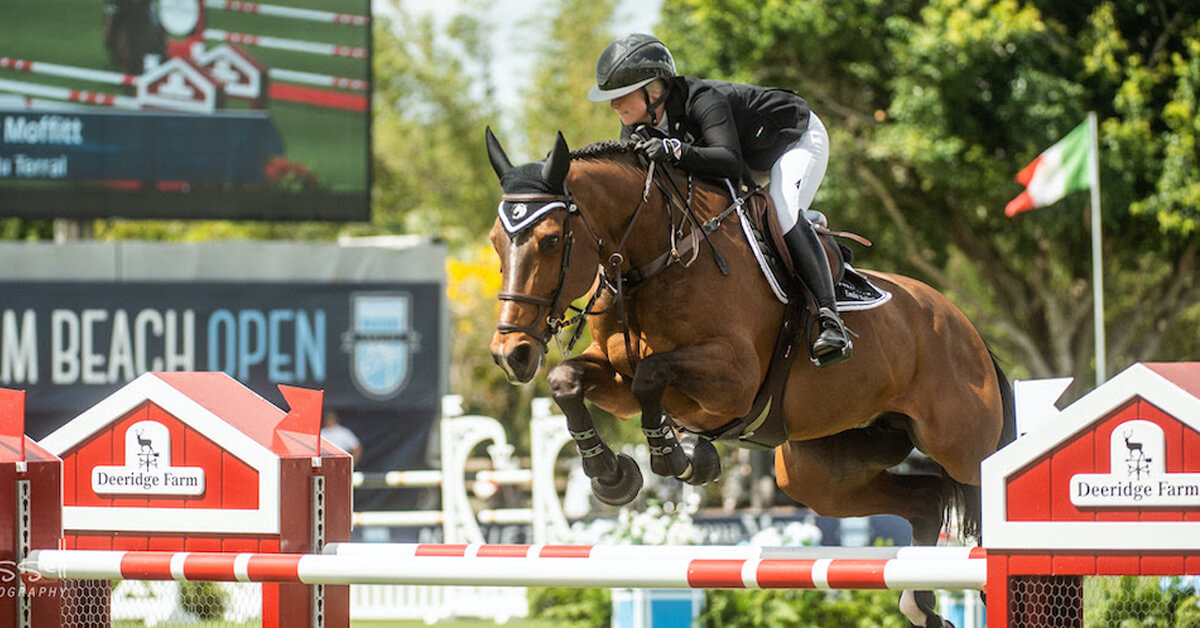 Thumbnail for Emily Moffitt and Tipsy du Terral take Palm Beach Masters Classic