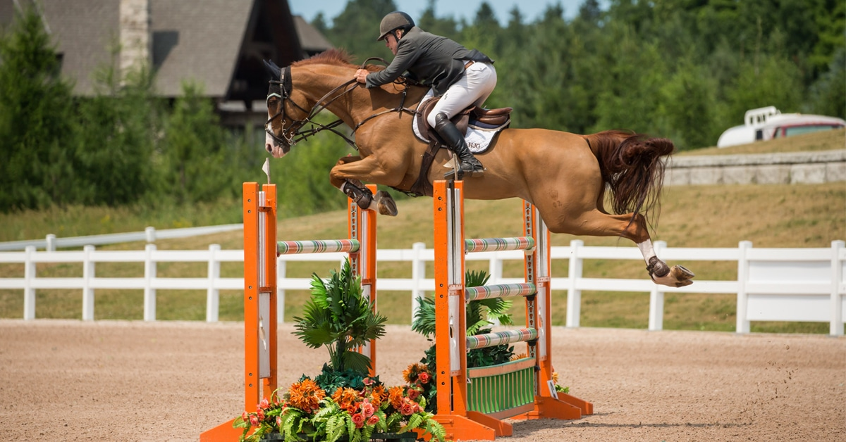 Five Tips For A Winning Jump Off With Hugh Graham