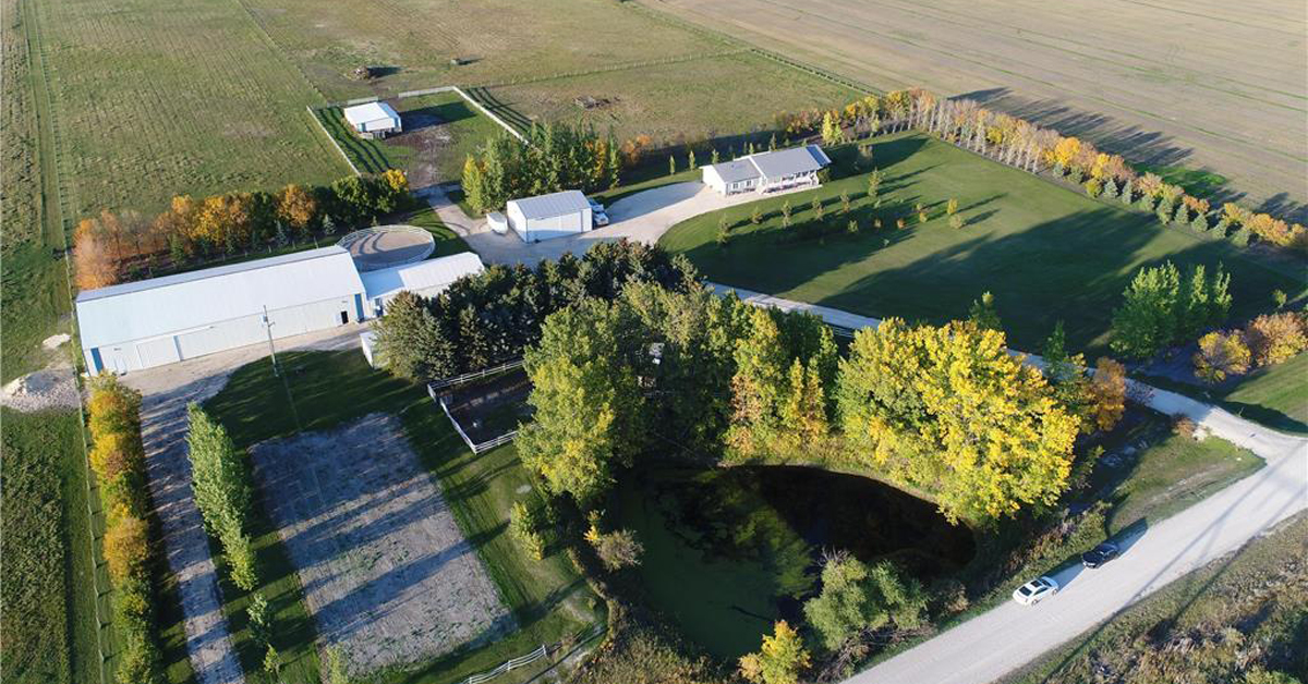 Thumbnail for $689,900 for a big sky country equestrian facility in Rockwood, MB