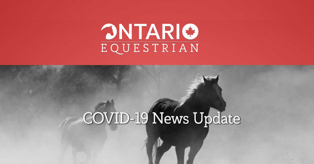 Thumbnail for Ontario Equestrian Introduces a Guide To Reopening Equine Businesses