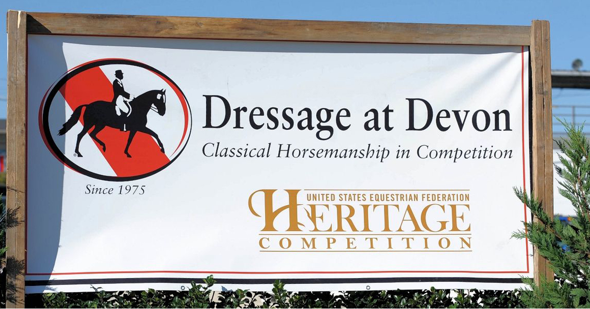 Thumbnail for Pandemic Causes Cancellation of Dressage at Devon