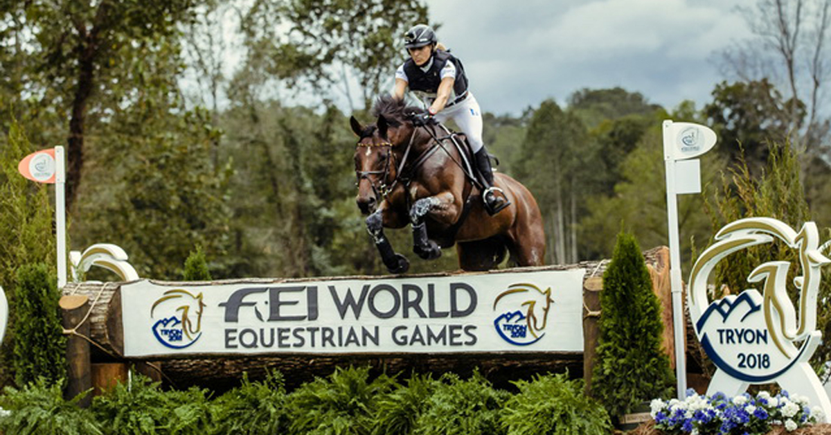 Ingrid Klimke (GER) and SAP Hale Bob OLD claimed individual bronze at the FEI World Equestrian Games™ 2018 in Tryon (USA). (FEI/Christophe Taniere)