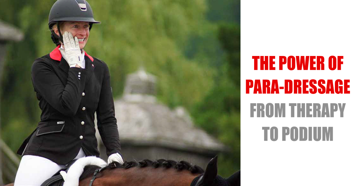 Thumbnail for The Power Of Para-Dressage: Free Webinar with Clive Milkins