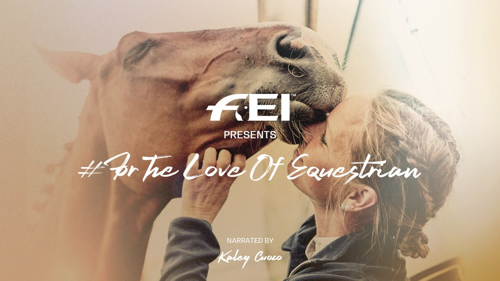 #ForTheLoveOfEquestrian has launched with Kaley Cuoco.