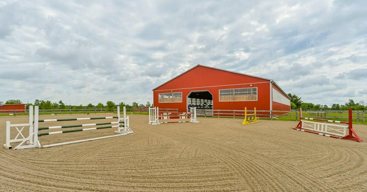 Thumbnail for $2,890,000 for a meticulously maintained equestrian facility in Guelph, ON