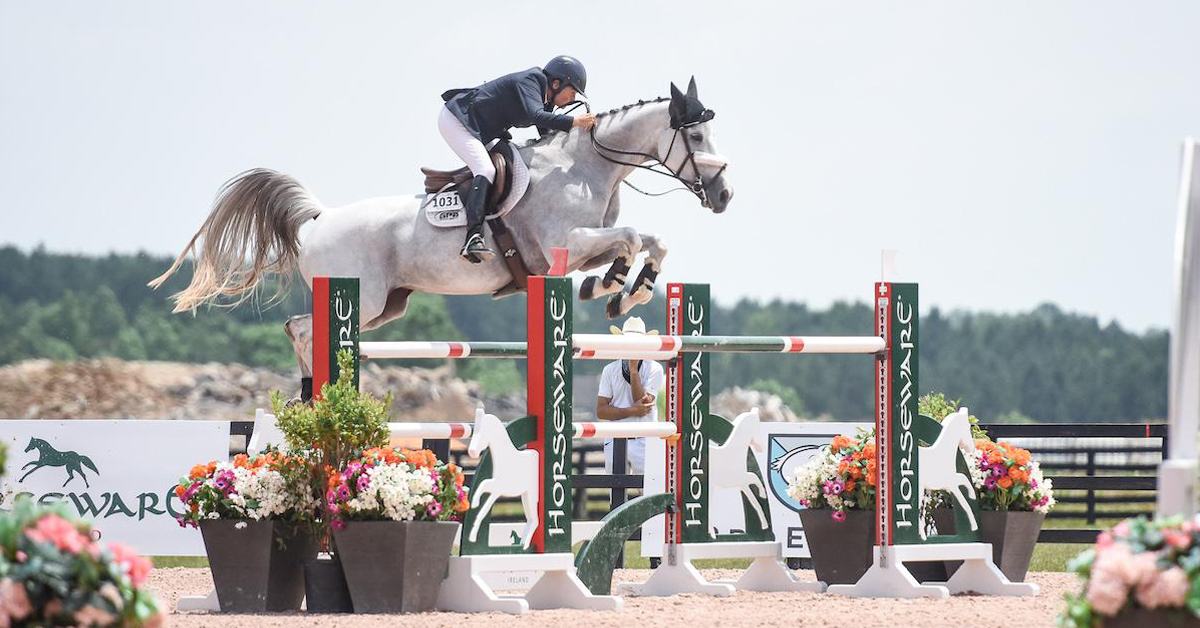 Thumbnail for Burr-Howard Wins $75,000 Grand Prix Aboard Donna Speciale